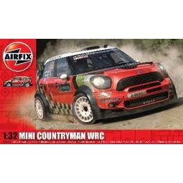 Maquette MINI COUNTRYMAN WRC AIRFIX 1/32e.Voiture Anglaise.