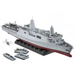 Maquette NAVIRE DE TRANSPORT AMPHIBIE (LPD-21) USS NEW YORK Revell 1/350e.