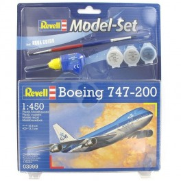 Maquette MODEL SET BOEING 747-200 Revell 1/4500e.