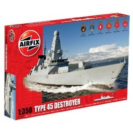 Maquette DESTROYER TYPE 45 ROYAL NAVY 2012 Airfix 1/3500e.