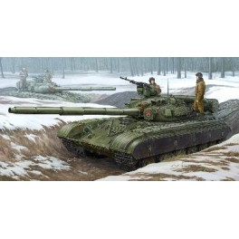 Maquette CHAR MOYEN SOVIETIQUE T-64B Modèle 1975 Trumpeter 1/35e.