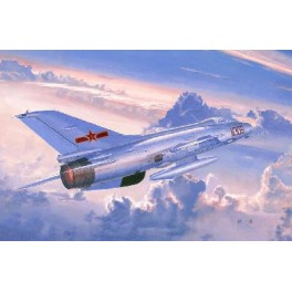 Maquette J-7B CHASSEUR CHINOIS Trumpeter 1/48e.