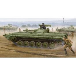Maquette BMP-1 IFV - SOVIETIQUE (modèle 1976 avec missile Sagger) Trumpeter 1/35e.