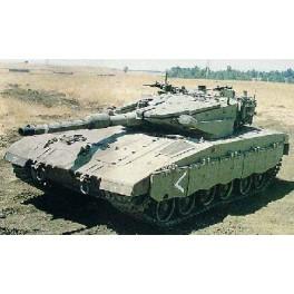 """Maquette CHAR DE COMBAT PRINCIPAL ISRAELIEN """"MERKAVA"""" Mk.III Baz Trumpeter 1/72e."""