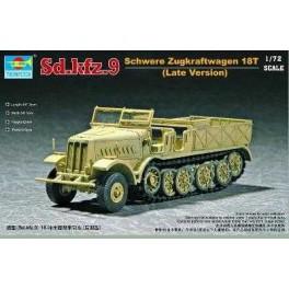 Maquette Sd.Kfz.9 Schwere Zugkraftwagen 18t Type F3 Trumpeter 1/72e.