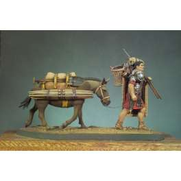 Andrea miniatures,54mm.The Marius´ Mule (AD 125) figure kits.