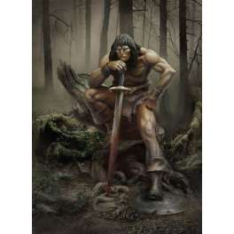 Andrea miniatures,54mm.The cimmerian King