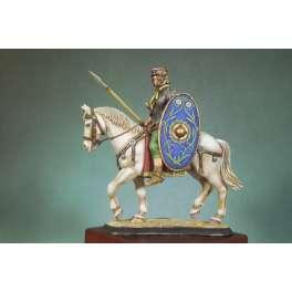 Andrea miniatures,54mm.Figurine de Cavalier Romain,125 Aprés JC .