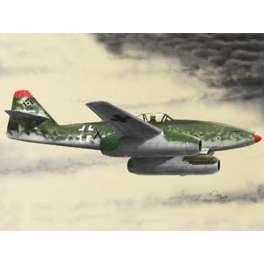 Maquette de  Messerschmitt Me 262 A-2a. TRUMPETER au 1/144e.