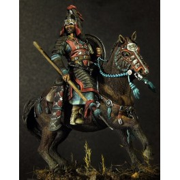 Figurine Pegaso 75mm-Cavalier Mongol du XIIIe siècle à monter et à peindre.