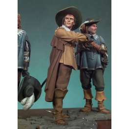 Figurine Andrea Miniatures 54mm Les trois mousquetaires D'Artagnan.