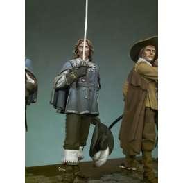 Figurine Historique- Aramis 54mm.