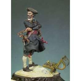 Andrea miniatures 54mm Figurine du Capitaine Kidd