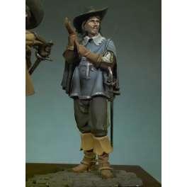 Andrea Miniatures 54mm. Figurine de Porthos.