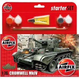 Airfix 1/76e STARTER SET CROMWELL Mk.IV CRUISER TANK. Maquette de char.