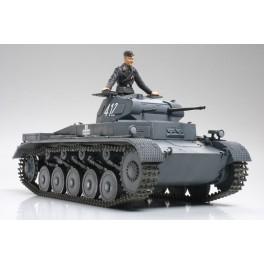 Panzer II Ausf.A/B/C- Maquette Tamiya au 1/35e.