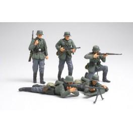 Infanterie Allemande France 1940- Figurine Tamiya au 1/35e.