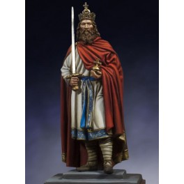 Andrea miniatures,54mm.Charlemagne figure kits.
