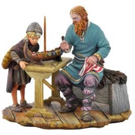 Figurine Andrea miniatures,54mm.Deux Générations
