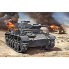 Maquette PANZER II Ausf.F de chez  Revell 1/76e.