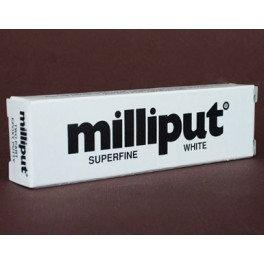 Milliput-Spachtel Superfein.