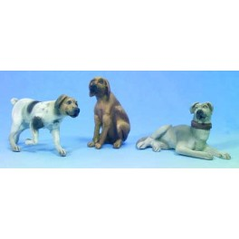 Andrea miniatures,54mm.Dogs.