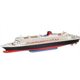 PAQUEBOT QUEEN MARY 2 Maquette Revell 1/1200e.