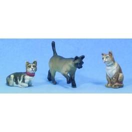 Andrea miniatures,54mm.Cats.