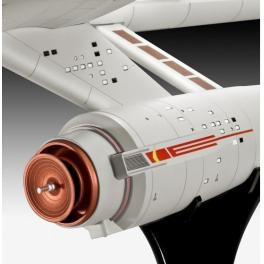 Maquette ENTERPRISE NCC-1701 - SERIE STAR TREK  de  Revell 1/600e.