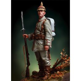 Andrea miniatures,90mm figure kits .Prussian Infantryman, 1916