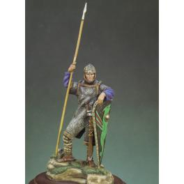 Andrea miniatures,54mm figure kit Norman Warrior, Hastings