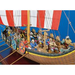 Andrea miniatures,54mm.Viking Longship.