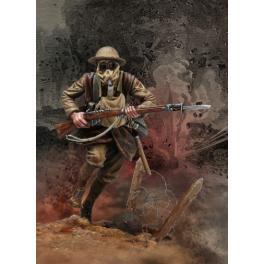 Andrea miniatures,54mm.English Infantryman. WWI figure kits.