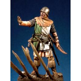 54mm.Pegaso.Archer Anglais,1346-1356.