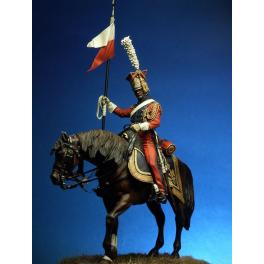 Napoleonic figure kits.''2nd Regiment Light Cavalry'' Lancer of the Imperial Guard, 1811-1815.