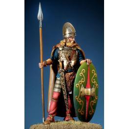 Figurine de Guerrier Celte III,IIème siècle avant JC 54mm Pegaso.