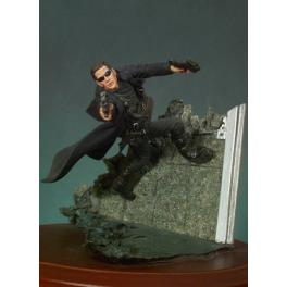 Figurine de  Matrix Virtual Fighter.  Andrea miniatures,54mm.