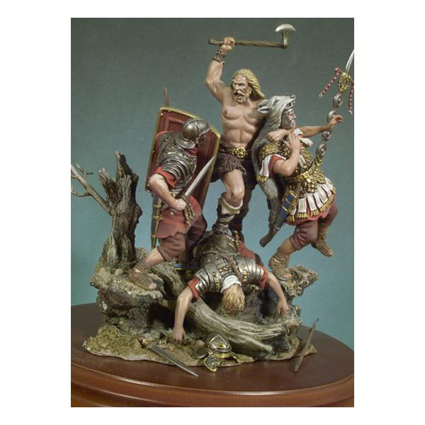 Andrea miniatures,54mm figure kits. The Barbarians are coming!.