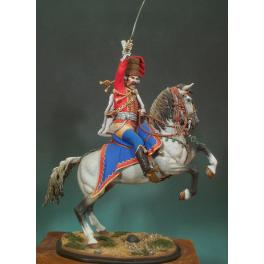 Andrea miniatures.90mm.Officier de Hussard Prussien.1762.