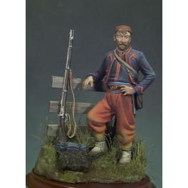 Andrea miniatures,54mm.Zouave,1863.