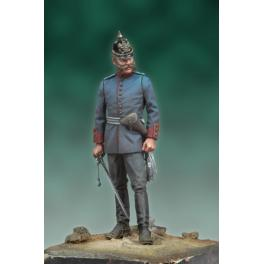 Andrea miniatures,54mm.Prussian Officer, 1878 figure kits.