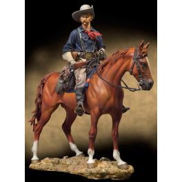 Andrea miniatures.figurine 90mm.Cavalier U.S -figurine à peindre-
