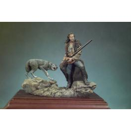 Andrea miniatures,54mm.Dancing with Wolves Figure kits.