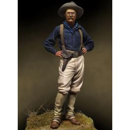 Andrea miniatures,54mm,Teddy Roosvelt, 1898 figure kits.