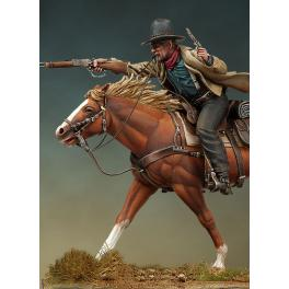 Andrea miniatures,54mm.Cowboy figure kits.