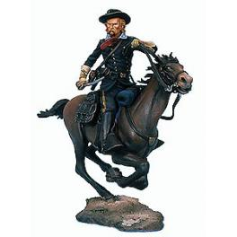 Andrea miniatures,54mm.Mayor General George A.Custer figure kits.(1865)