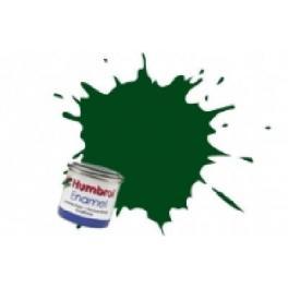 Peinture Humbrol 14ml N3 Vert Brunswich brillant.