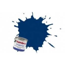 Peinture Humbrol 14ml N15 Bleu nuit brillant.