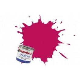 Peinture Humbrol 14ml N51 Rouge soleil couchant.Finition métalique.