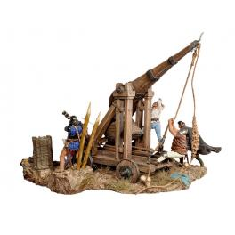 Andrea miniatures,54mm.Trébuchet,1460 figure kits.